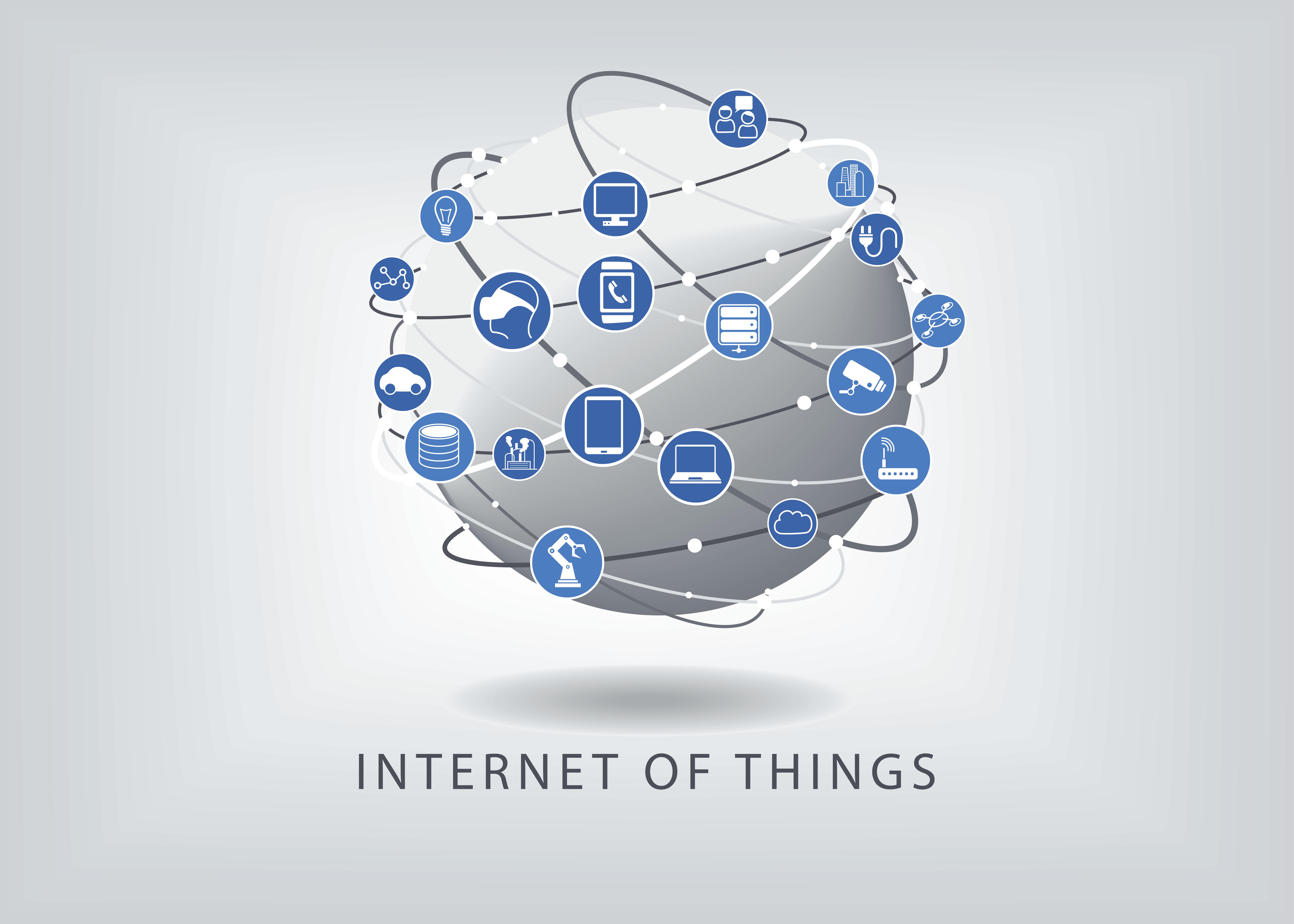 Tingenes Internett, eller Internet of Things (IoT) på engelsk.